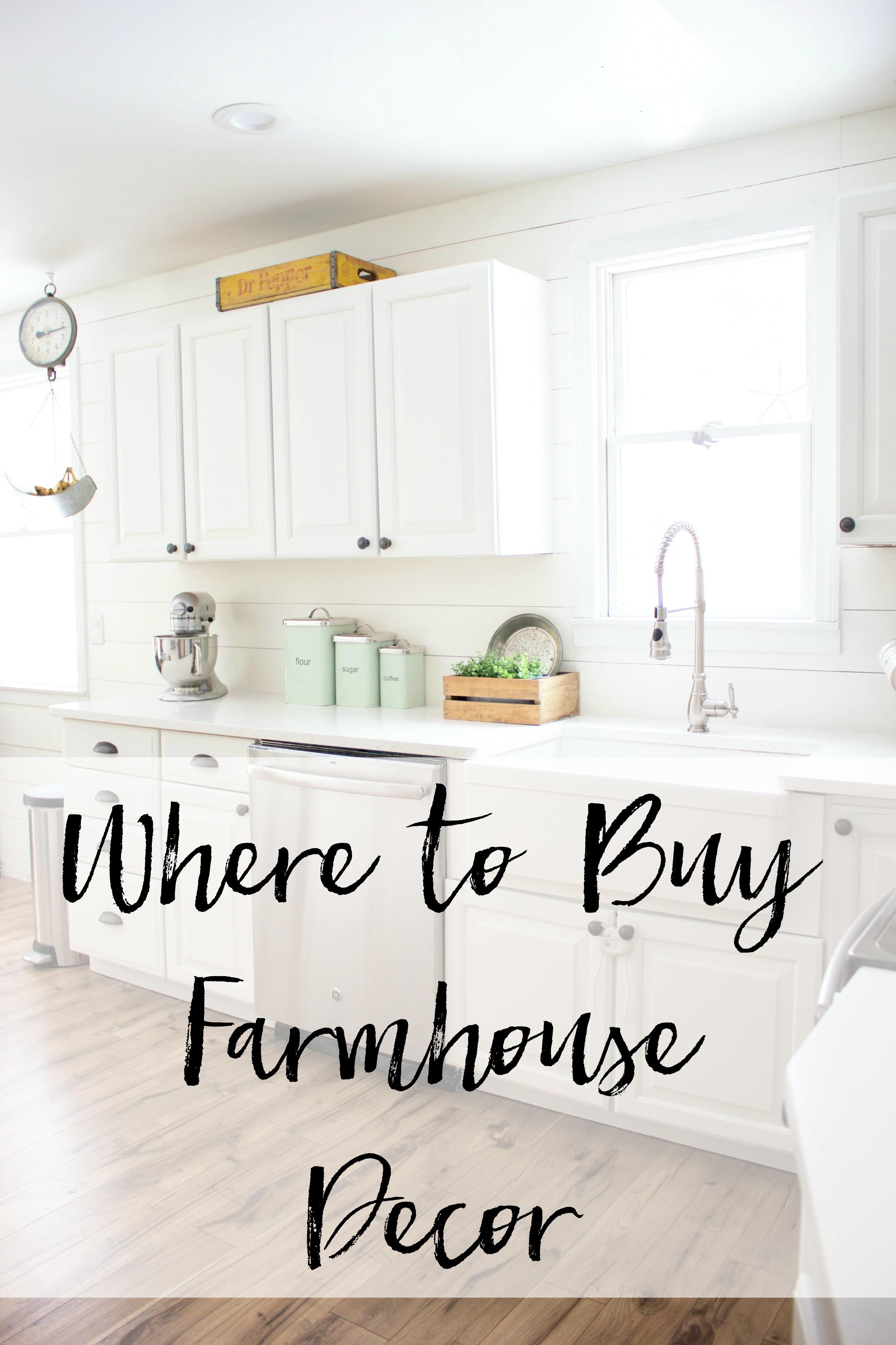 Where to Buy Farmhouse Decor - Lauren McBride
