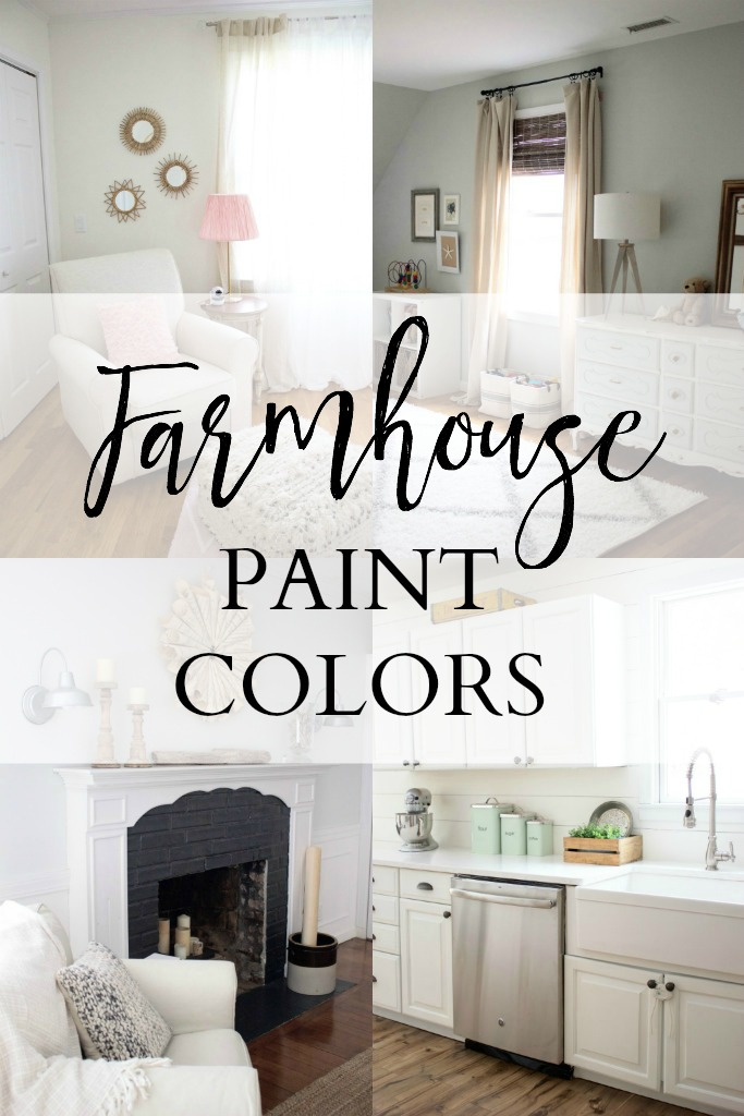 Home our farmhouse paint colors lauren mcbride - Farmhouse interior paint colors ...