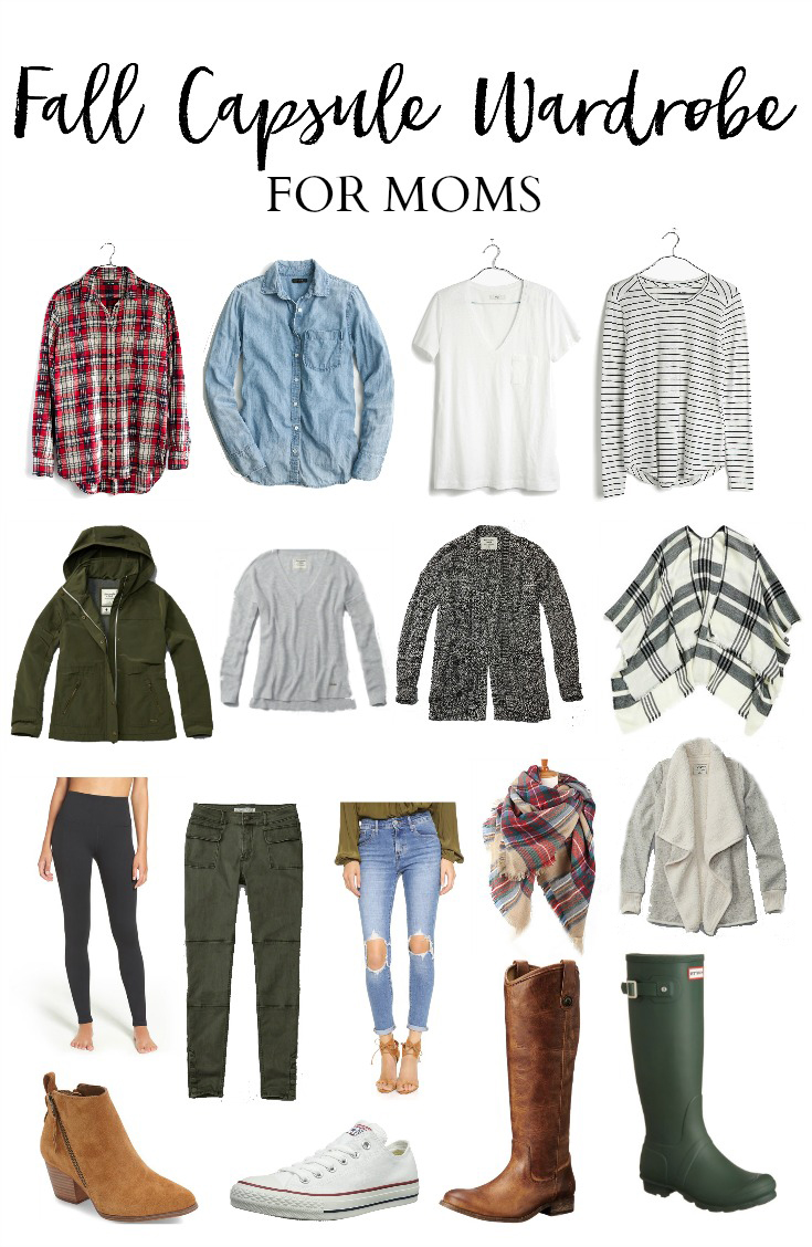 Style Fall Capsule Wardrobe For Moms Lauren Mcbride