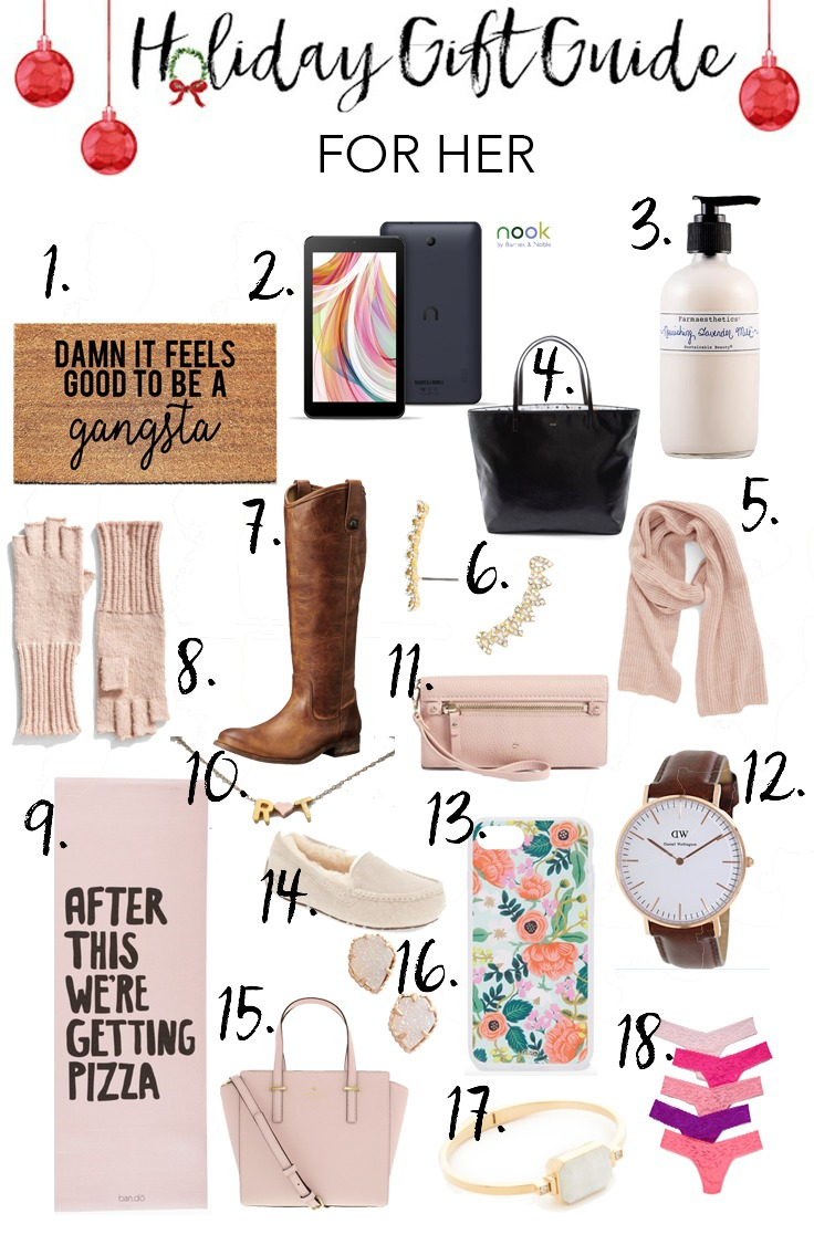 Holiday Gift Guide For Her Lauren Mcbride