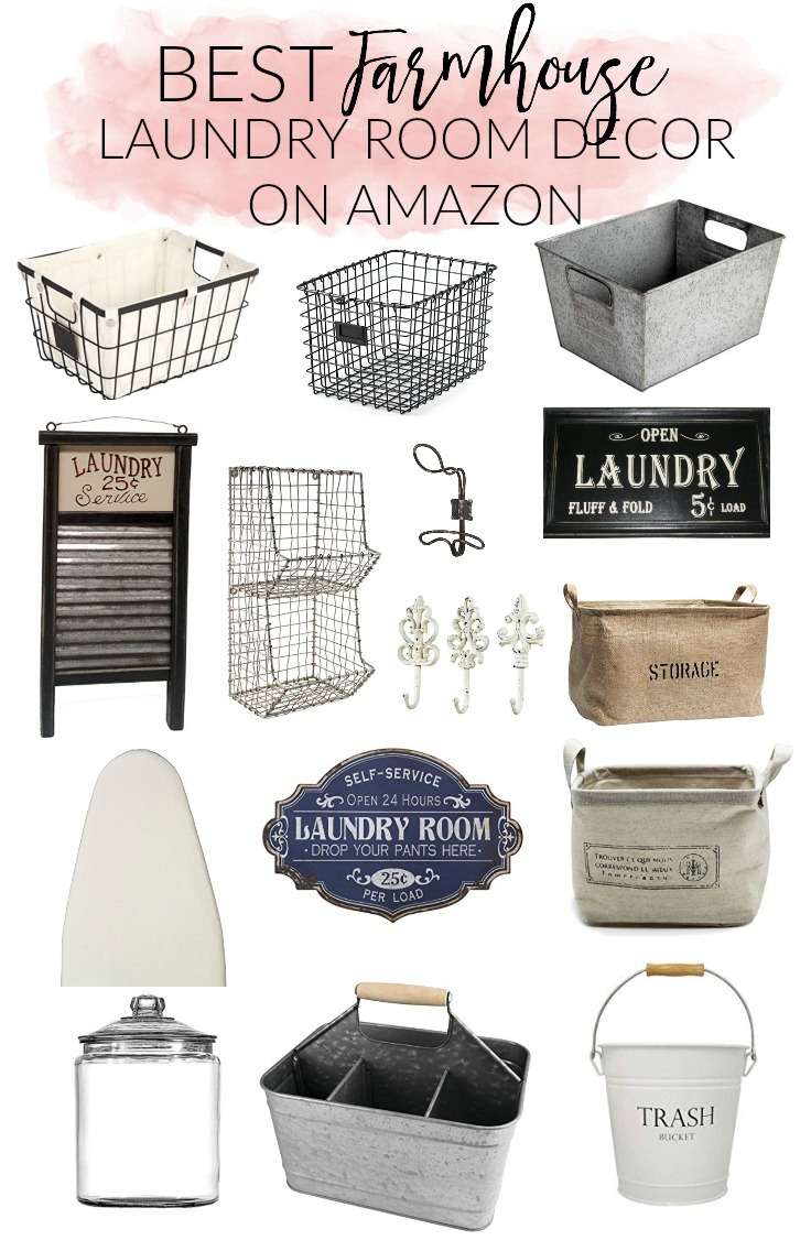 Home Best Farmhouse Laundry Room Decor On Amazon Lauren Mcbride